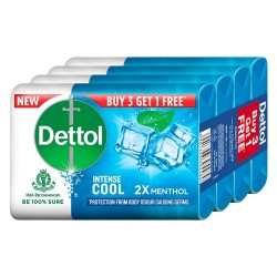 Dettol Cool Soap 4x75gm