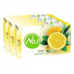 Godrej No.1 Alovera & Lime Soap 4x125gm