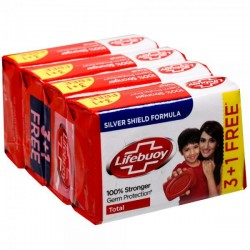 Lifebuoy Total  Soap 125*4
