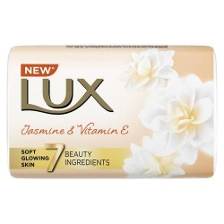 Lux Jasmine and Vitamin E 4 plus 1 Free