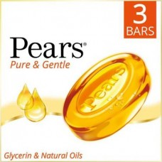Pears Pure & Gentle 3x125gm