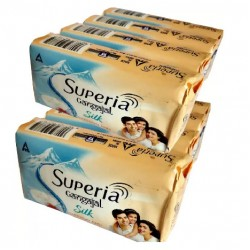 Superia Silk Saffron and Milk Cream 5*100Gm