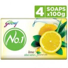 Godrej No1 Alovera & Lime Soap 4x100gm