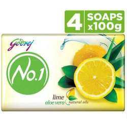 Godrej No1 Alovera & Lime Soap 5x100gm