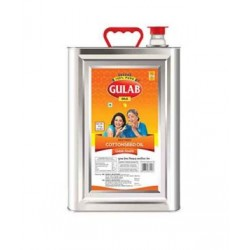 Gulab Cottonseed Oil Tin 15litre