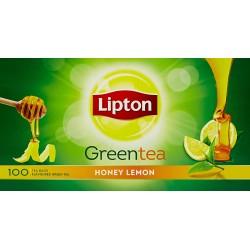 Lipton Lemon Honey Green Tea 100Bags