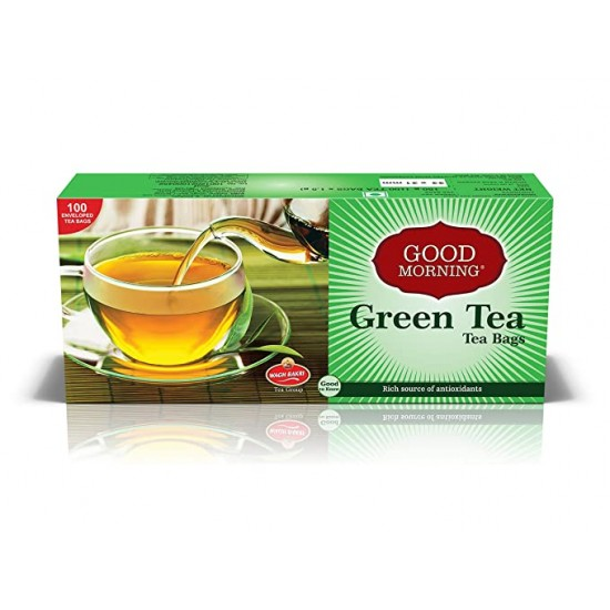 Waghbakri Good Morning Green Tea Bags 150Gm