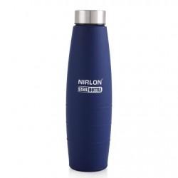 Nirlon Blue Stainless Steel Water Bottle 1000ml