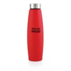 Nirlon Red Stainless Steel Water Bottle 1000ml