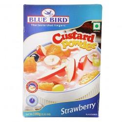 Blue Bird Strawberry Custard Powder -100Gm