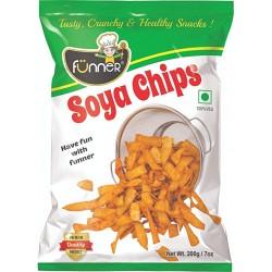 Funner Soya Chips 200Gm