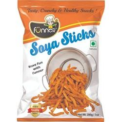 Funner Soya Sticks 200Gm
