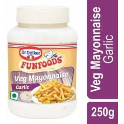Funfood Garlic Veg Mayonnaise 250 gm