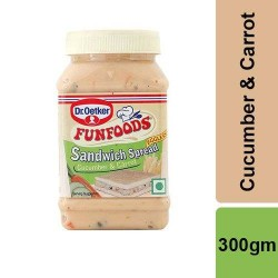 Funfood Sandwich Spread Cucumber and Carrot 300 gm