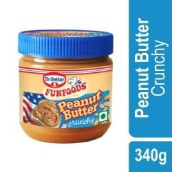 Funfoods Crunchy Peanut Butter 340 gm
