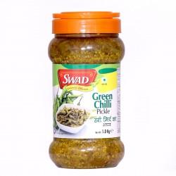 Swad Green Chilli Pickle 1Kg