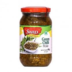 Swad Green Chilli Pickle 400Gm