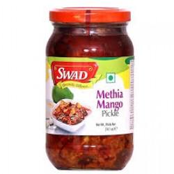 Swad Methia Mango Pickle 400Gm