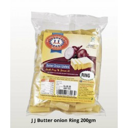 J J Butter Onion Ring 200Gm