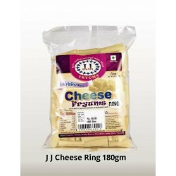 J J Cheese Ring 180Gm