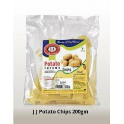 J J Potato Chips 200Gm