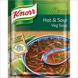 KNOOR CHINESE HOT AND SOUR VEG SOUP 43GM