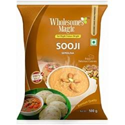 Wholesome's Magic Sooji 500Gm