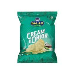 Balaji Cream Onion Wafers-135gm