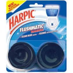 Harpic Flush Pine Twin Pack 100gm