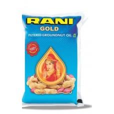 Rani Groundnut Oil Pouch 1litre