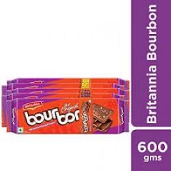 Britannia Bourbon 600gm (120gmx5)Combi