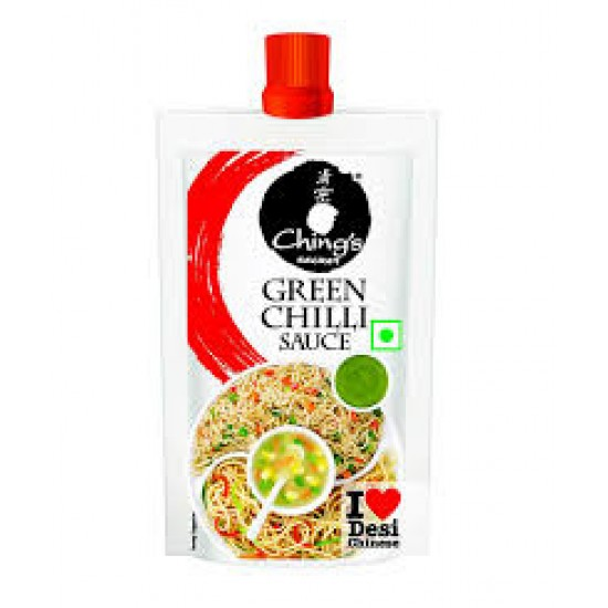 Chings Green Chilli Sauce 90Gm