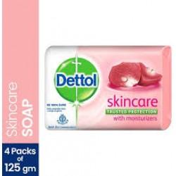 Dettol Skincare Soap 500gm(4x125gm)