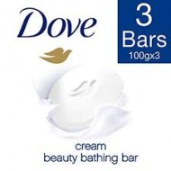 Dove Cream Bathing Bar 3x100gm