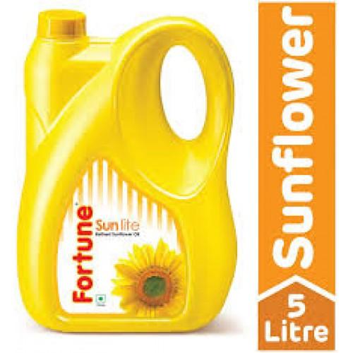 Fortune Sunlite Refind Oil 5 litre