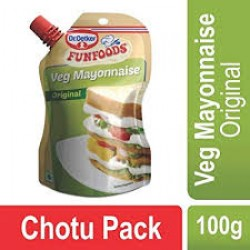 Funfood Mayonniase Veg 100 gm