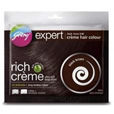 GODREJ EXPERT NATURAL BLACK HAIR COLOR 40ML.
