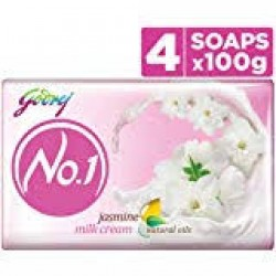 Godrej No.1 Jasmine Soap 4x100gm