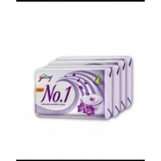 GODREJ NO.1 LAVENDAR & MILK SOAP 4X100gm