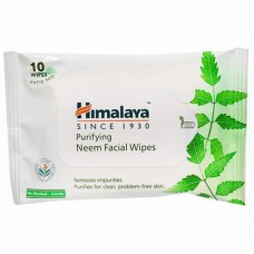 HIMALAYA NEEM FACIAL WIPES10N