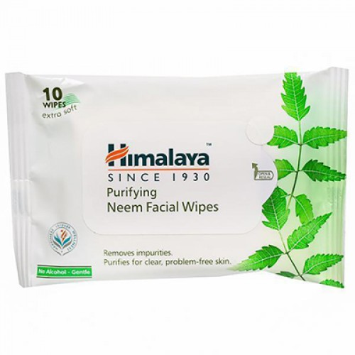 HIMALAYA NEEM FACIAL WIPES10N