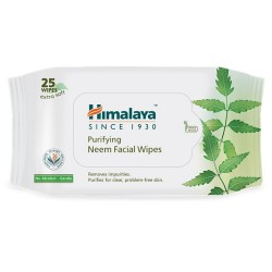 Himalaya Neem Facial Wipes 25N