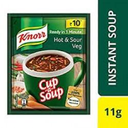 Knorr Hot N Sour Veg Soup - 11Gm