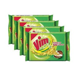 Vim Bar Lemon 4*115gm