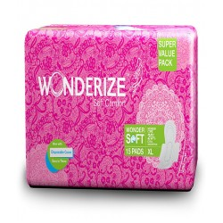 Wonderize Soft Comfort 15Pads