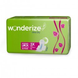 Wonderize Ultra Dry 30 Pads XL