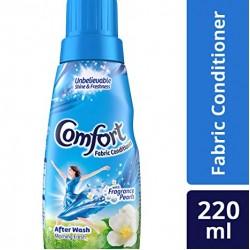 Comfort Morning Fresh Fabric Conditioner Blue 220ml