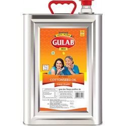 Gulab Cottonseed Oil Tin 15 kg