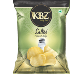 KBZ Salted Potato Chips 145Gm