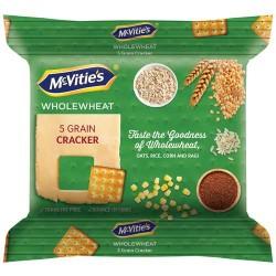 McVitie's 5 Grain Cracker Biscuits 120 g